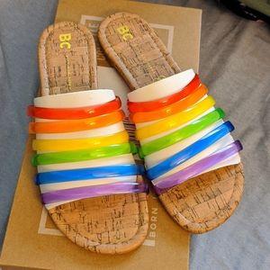 BNIB BC For You Pride Sandals